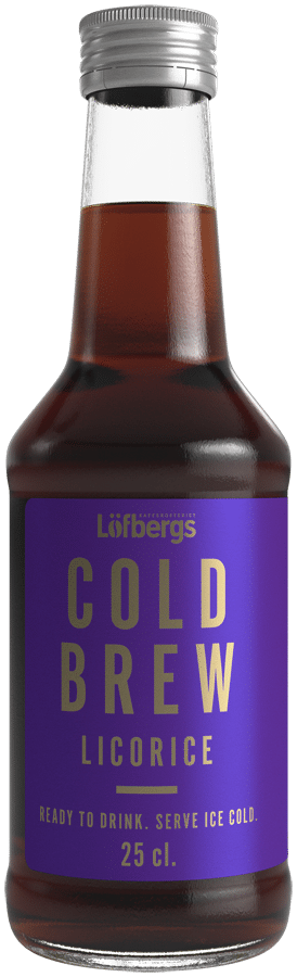 Löfbergs Cold Brew Licorice
