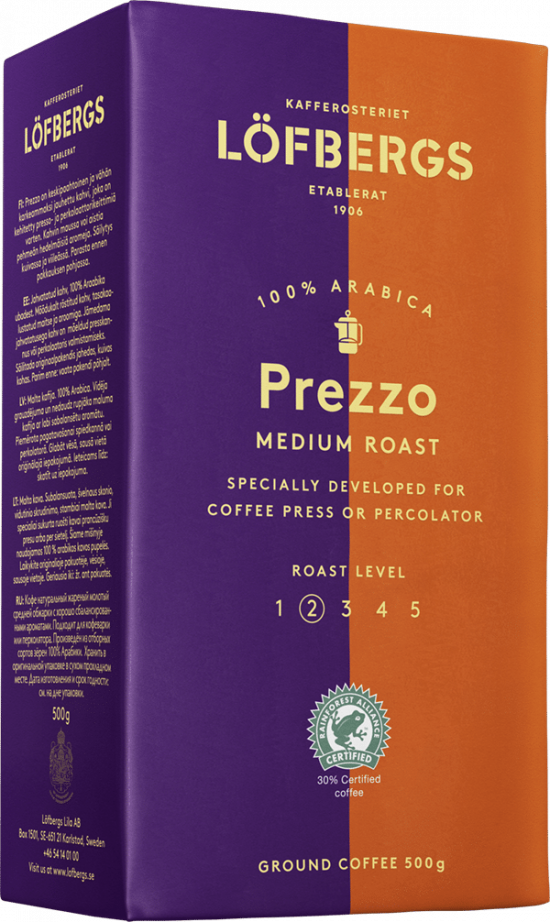 Prezzo Medium Roast 500g
